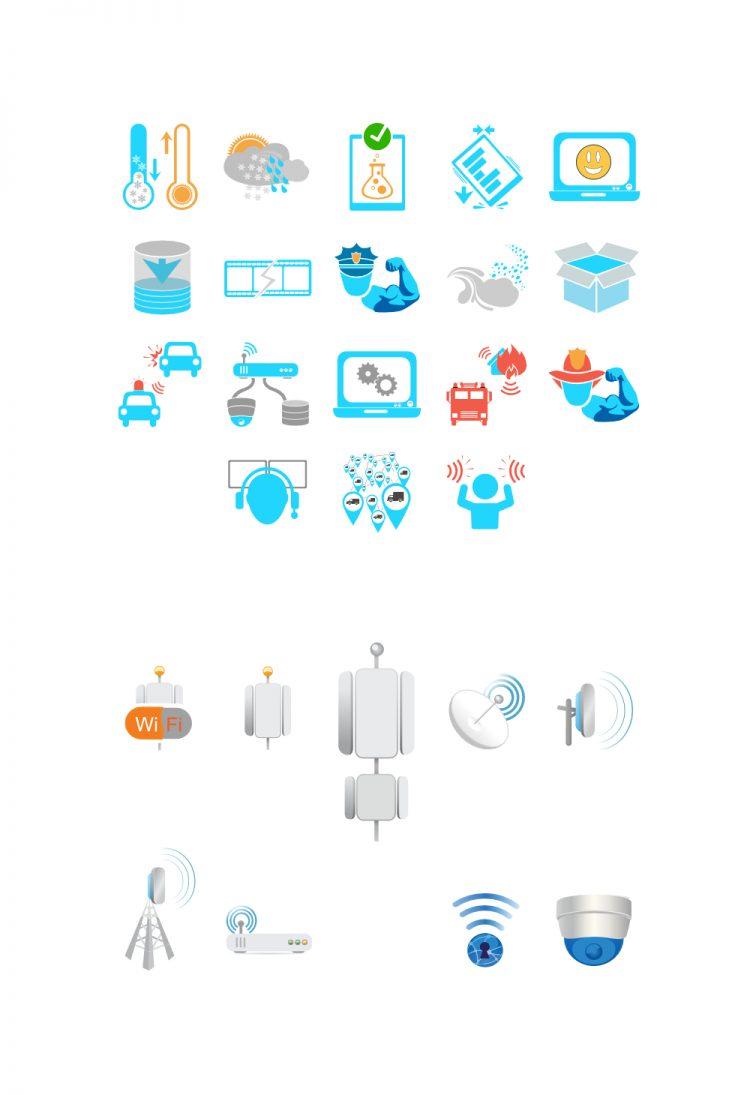 Baycom Inc. Website Content Icons Set #2
